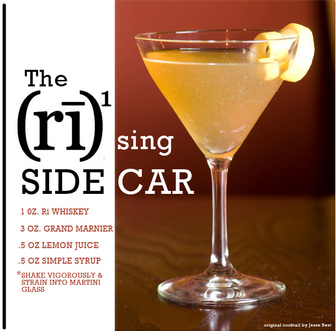 The Rising Sidecar | Drinks & Cocktails | Pinterest
